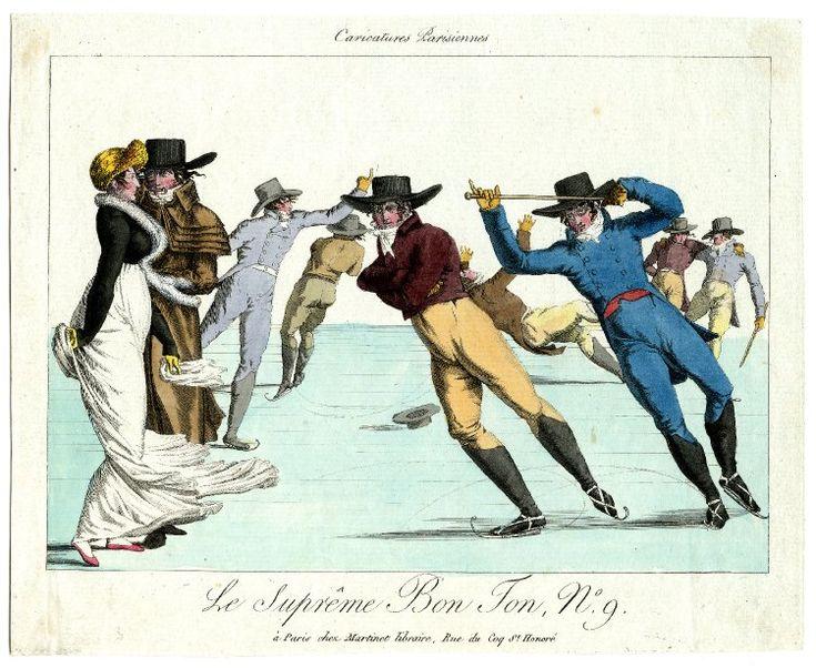 Aaron Martinet, 1802, Caricatures Parisiennes / Le suprême bon ton