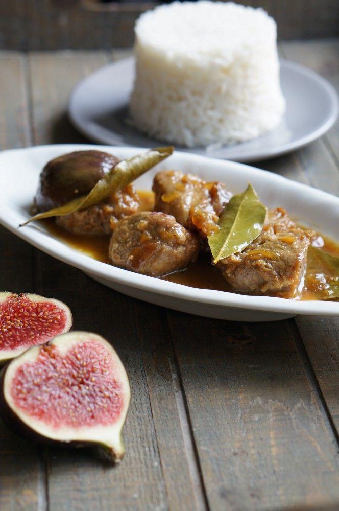 Une recette gourmande entre salé / sucré, un régal pour les papilles de goûter à cette viande caramélisée et ses figues au miel.