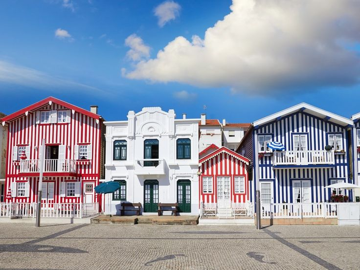 """For Condé Nast Traveler #Aveiro is one of """"The Most Romantic Small Towns in Europe""""   2/02/2018 """"With its candy-colored houses, magnificent Art Nouveau architecture, verdant gardens, and boat-filled canals, the charming seaside town of Aveiro is an easy place to fall in love. #Portugal"""