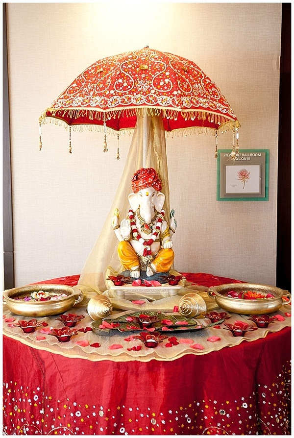 I could use Ganesh at my wedding!...if I were ever to get married, that is.  Trust me, if I were getting married, we would NEED Ganesh there! HA HA HA!  SO many obsticles!  lol Traditional Indian wedding decorations by SYPhotography