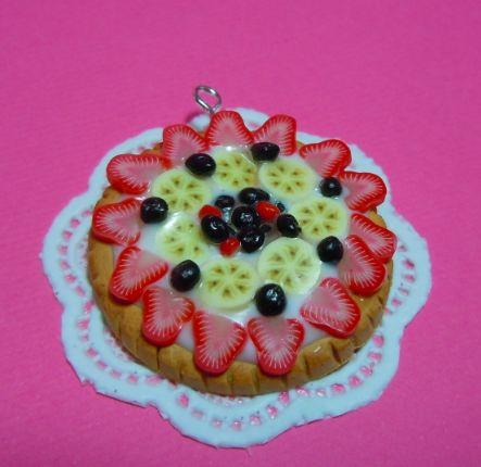 mini tart pendant