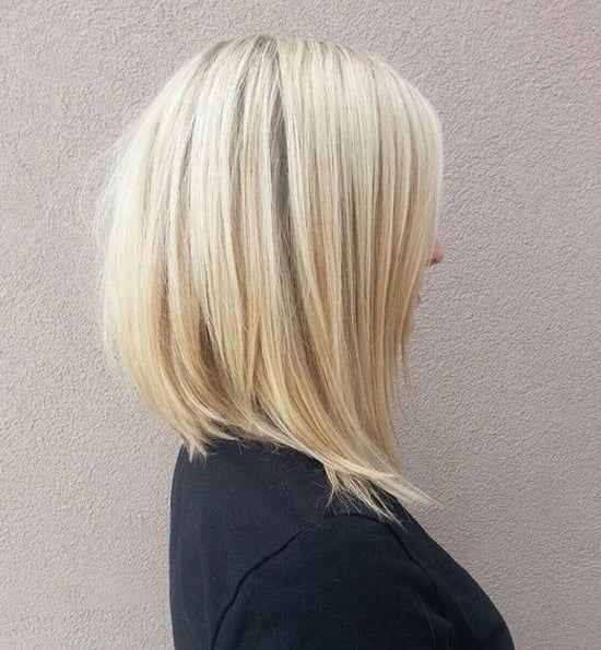 Каре с удлиненными передними прядями подходит практически для любого типа волос и формы лица.
