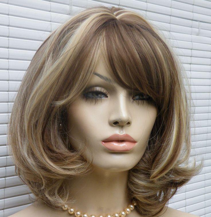 Perücke dunkelblond mittelbraun blond gesträhnt wie Echthaar schulterlang | Beauty & Gesundheit, Haarpflege, Perücken & Haarverlängerungen | eBay!