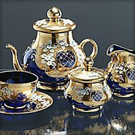 Decadent Tea Set...Bohemia Tea Set |