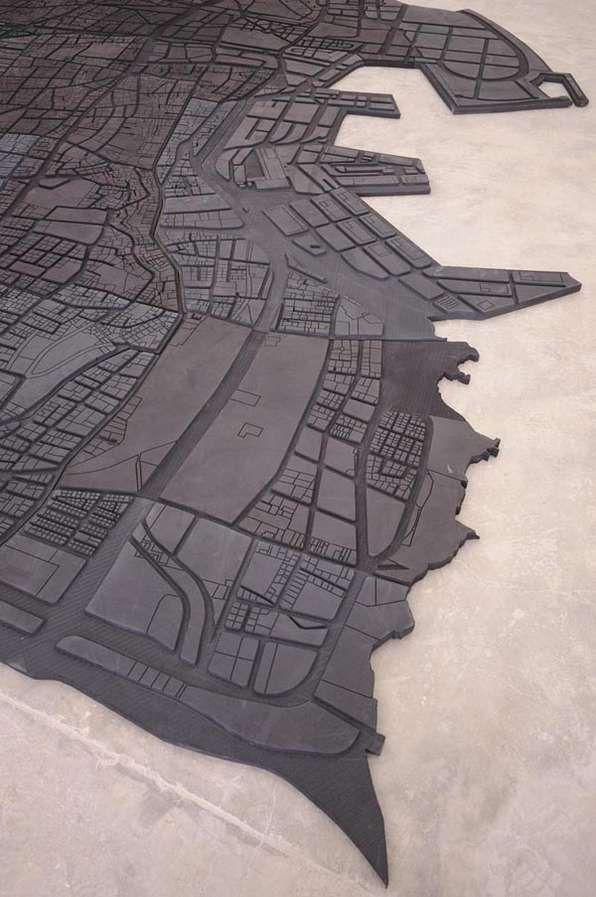 #so65 #segni map art Marwan Rechmaoui,