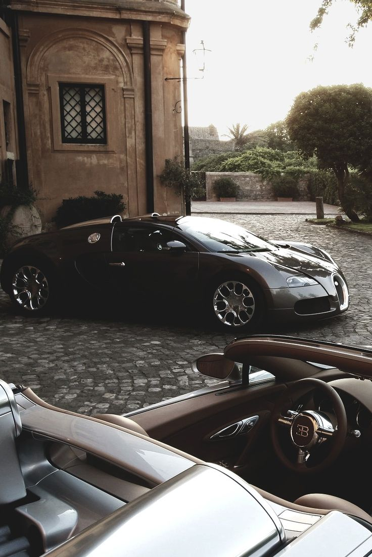 His and Hers #Bugatti #Veyron | Stay Classy ♡ $LadyLuxury$