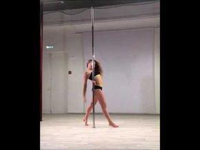 Tabletop Flip - Olga Trifonova Belka (Pole Dance Trick) - YouTube