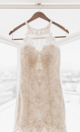 David's Bridal Jewel wedding dress currently for sale at 67% off retail.
