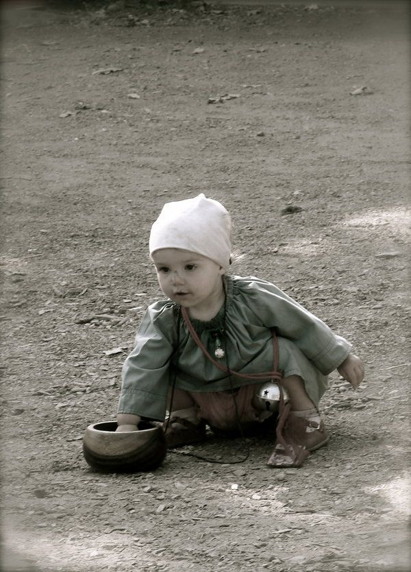 Young medieval child