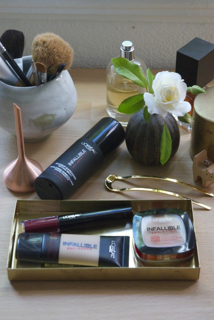 Beauty essentials. L'Oreal Infallible collection