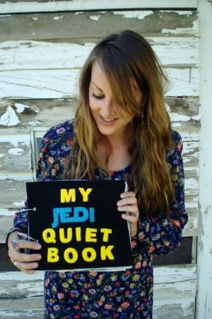 """Get your nerd on and DIY your own Star Wars-themed """"quiet book""""   Offbeat Families"""