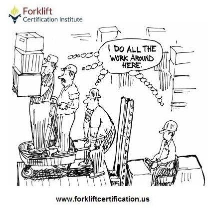 Happy weekend! #forklift #forklifttraining #