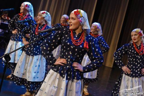 Folk costumes from Beskid Żywiecki (Żywiec Beskids) region, Poland.