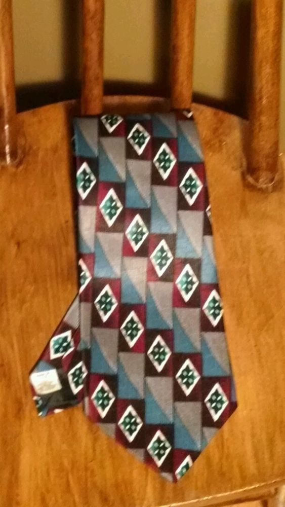 Allyn saint george american classic tie 100 polyester for American classic usa