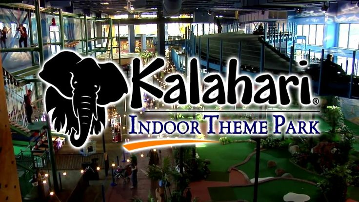 Kalahari Indoor Theme Park - Wisconsin Dells. The Indoor Theme Park at Kalahari Resort in Wisconsin Dells features over 100,000 square feet ...