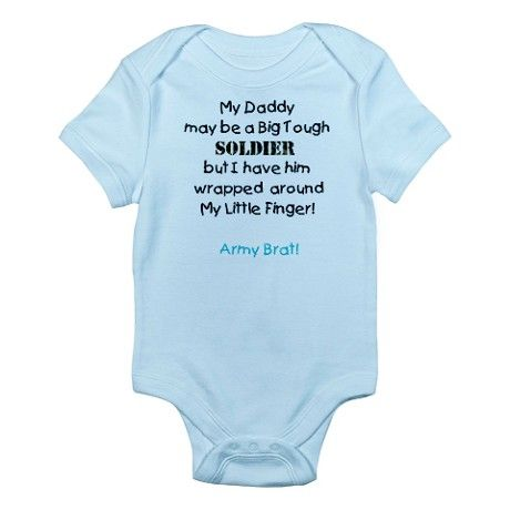 military baby clothes | Army Gifts > Army Baby Clothing > Army Brat Infant Bodysuit
