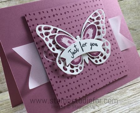 Just in CASE Stampin Up Watercolor Wings Stamp Set Butterflies Thinlits 2 www.stampstodiefor.com More