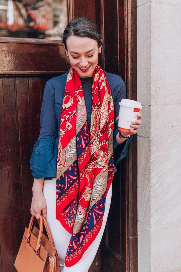 Cashmere Silk Scarf - peek-a-boo silk scarf by VIDA VIDA 6b4bjWf8