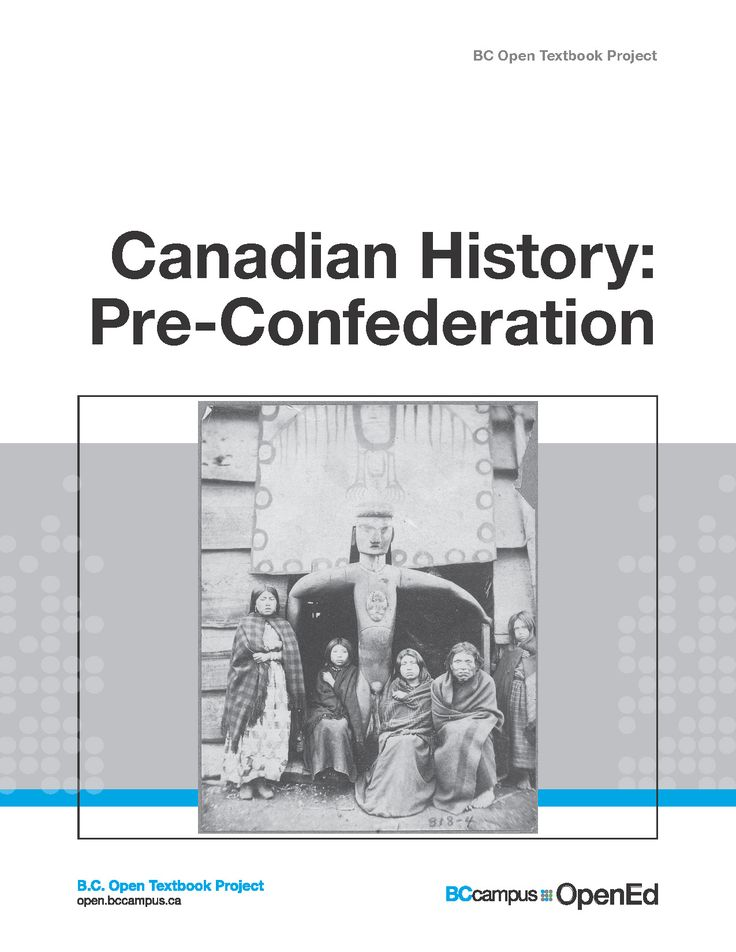 Canadian History: Pre-Confederation book cover