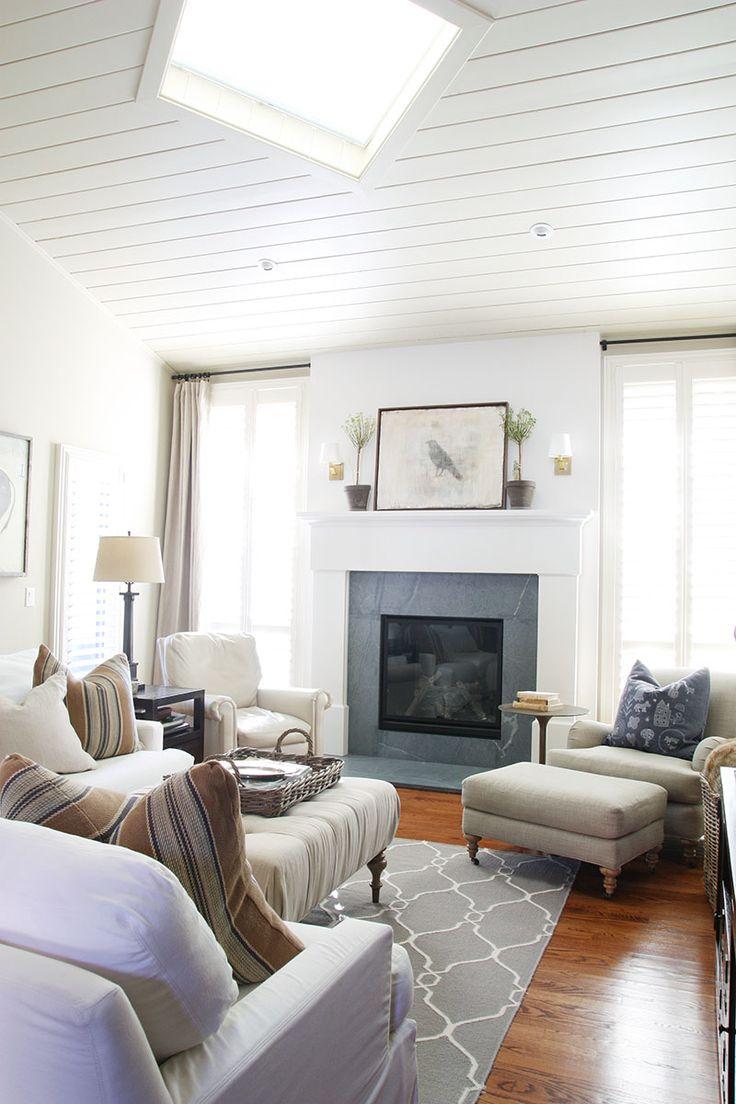 Living Room - Neutral Home Tour - Life On Virginia Street