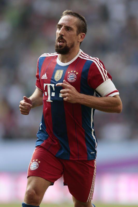 Franck Ribéry sous les couleurs du Bayern Munich.