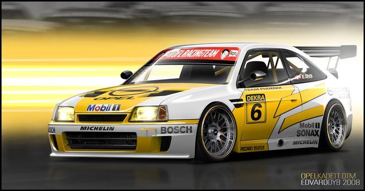 Opel Kadett DTM by dr-phoenix on DeviantArt