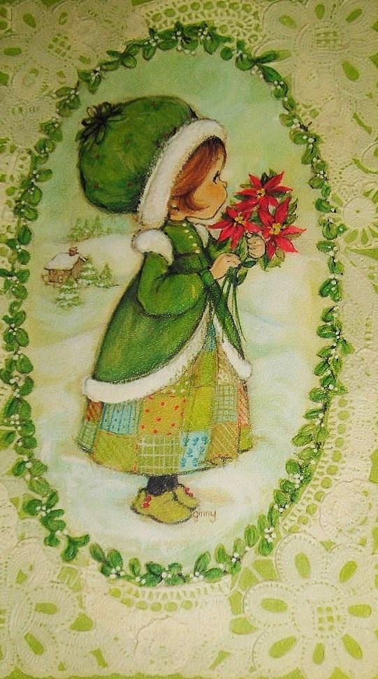 Vintage Hallmark Christmas Card