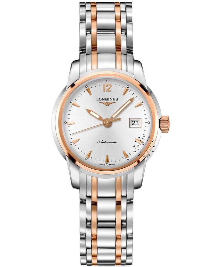 LONGINES Automatic Saint-Imier Two-Tone Stainless Steel Bracelet Τιμή: 2.480€ http://www.oroloi.gr/product_info.php?products_id=34354