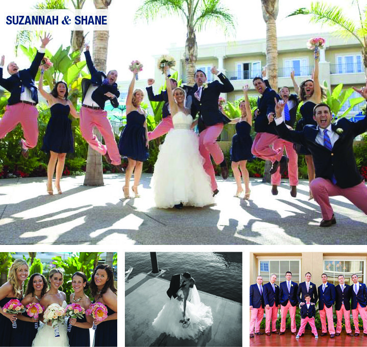 """""""Wedding Wednesday: Suzannah and Shane"""".......on Wednesday we wear pink!"""