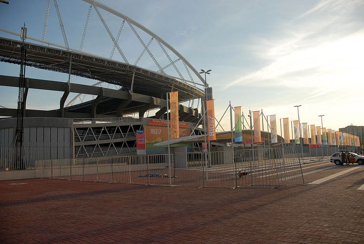 """""""Estádio Olímpico João Havelange"""", o 'Engenhão'. # Rio de Janeiro, Brasil."""