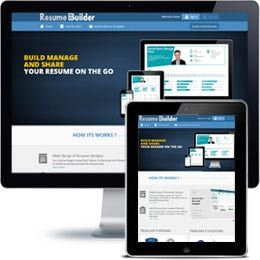 Resume Builder web application built with PHP/HTML, JQuery using responsive web design.