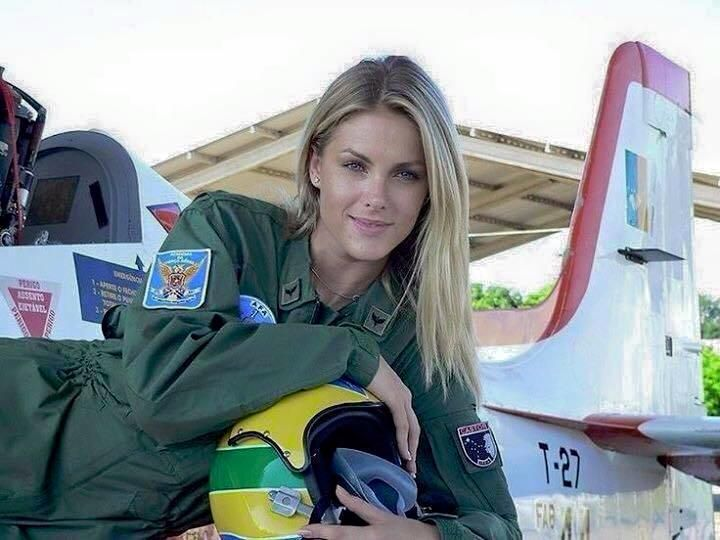 Russian Female Fighter Pilot Who Bombed the Hell out of ISIS