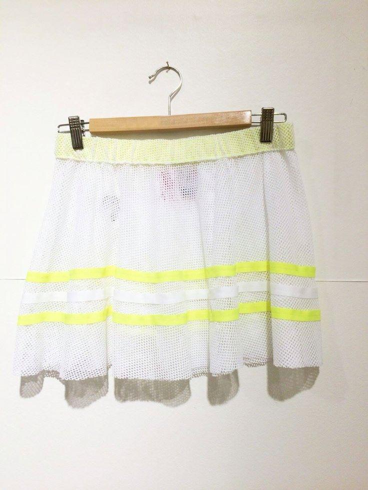 Mesh tennis skirt