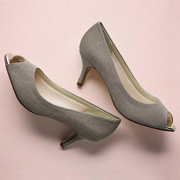 Rainbow Club Iona Low Heel Wedding Shoes. Sparkle With These Jimmy Choo  Inspired Metallic Party