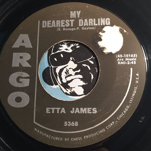 Etta James   My Dearest Darling B/w Tough Mary   Argo #5368