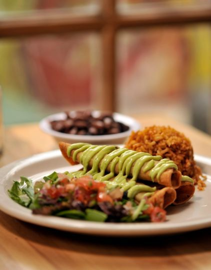 Green Vegetarian Cuisine closed its restaurant at 1017 N. Flores St. and reopened at the Pear