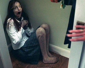 The Ring (2002, Gore Verbinski) - I do love a supernatural horror, and The Ring did not disappoint. I went with a 'friend' to see this at the cinema (i.e. a girl I was trying to impress), and this 'girl in the cupboard' scene made me jump to the point where the bag of Minstrels I was holding flew up in the air and showered the person behind me. A really effective, spooky movie, this one, a rare case of American remake being as good as the Japanese original.