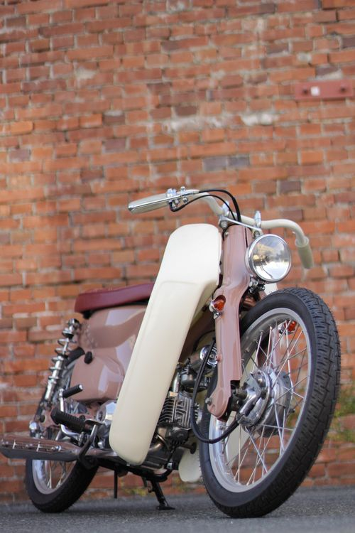 Honda C50 by Garage Works
