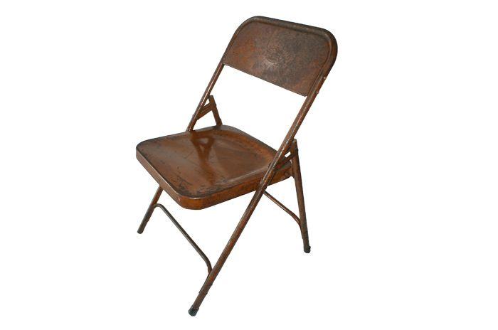 Sillas de la firma FS muebles, metálicas y plegables