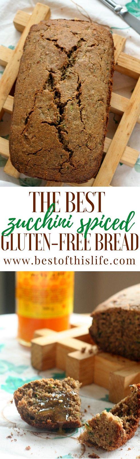 The Best Zucchini Spiced Gluten-Free Bread www.bestofthislife.com