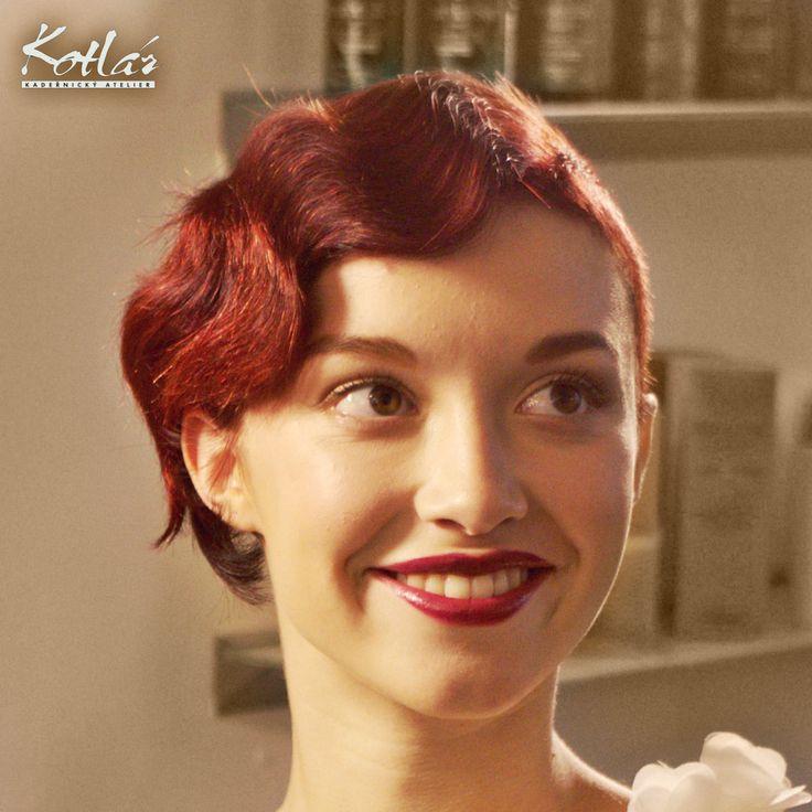 Sexy krátké vlasy á la 30. léta podle Tomáše Kotlára