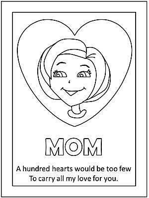 dltk mothers day coloring pages - photo#5