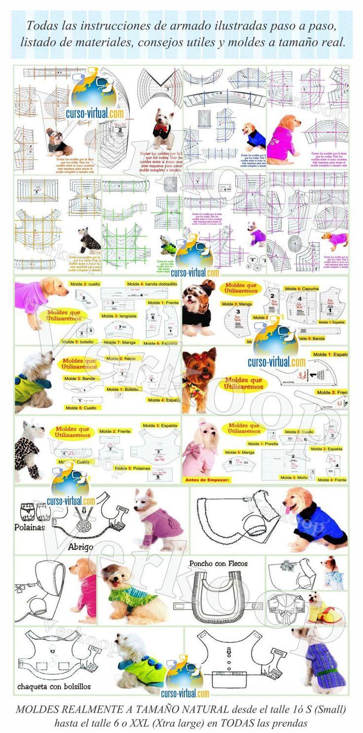 Ropa para Perros - Nivel Avanzado - Diseños Exclusivos con MoldesCurso Virtual