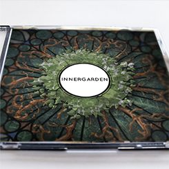 Innergarden CD cover by Design Flotta