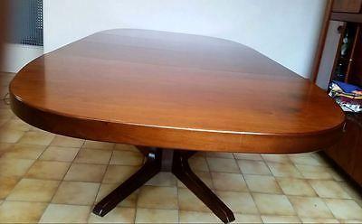 Table de s jour oblong style scandinave vintage ann e for Table sejour scandinave
