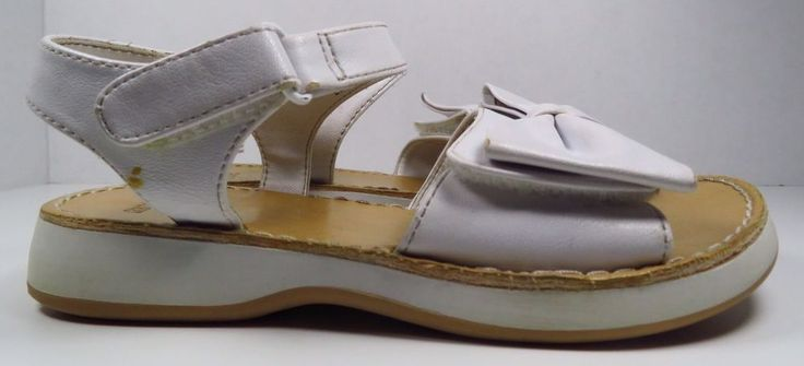 Gymboree White Open Toe Sandals Size 11 (Toddler) #Gymboree #Sandals