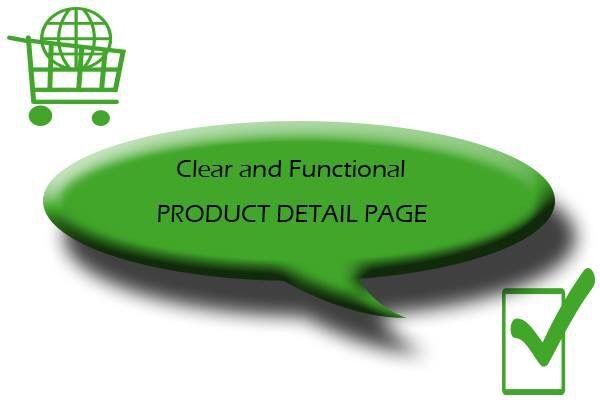 #attenzioneaidettagli  Con le nostre schede prodotto chiare, funzionali e accattivanti, curate nel dettaglio, in grafica e contenuti, accompagniamo il cliente dalla prima visita sul sito fino al suo acquisto.