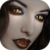 Vampire Eye Color Changer - Red Eye Remover to Create Scary Eye Color Effect for Instagram by Chue Dave