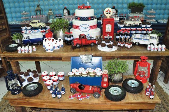 Festa Infantil: Tema Carros   Decorar é preciso