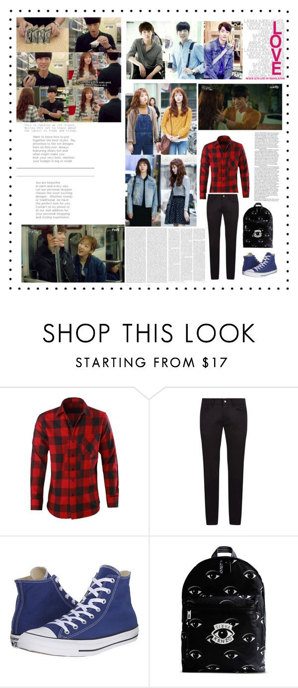 """Cheese in the trap"" by angelworlds21 ❤ liked on Polyvore featuring Episode, Dolce&Gabbana, Converse, Kenzo, Oris, men's fashion and menswear"
